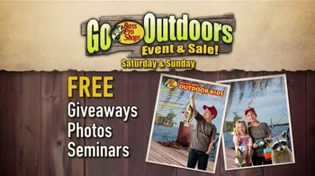 Bass Pro Shops Go Outdoors Event & Sale TV Spot, 'Hiking and Paddle Sports' - Thumbnail 6