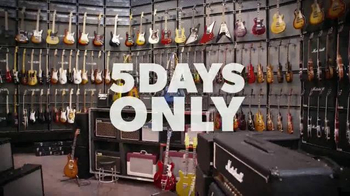 Guitar Center Memorial Day Sale TV Spot, 'Guitars, Drums, Keyboards' - Thumbnail 4