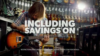 Guitar Center Memorial Day Sale TV Spot, 'Guitars, Drums, Keyboards' - Thumbnail 6