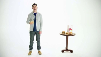 McDonald's Sirloin Third Pounder TV Spot, 'Peachy' Featuring Max Greenfield - Thumbnail 1