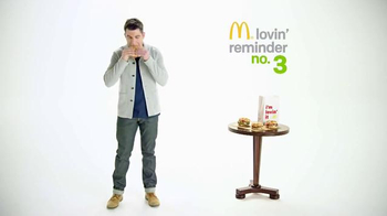 McDonald's Sirloin Third Pounder TV Spot, 'Peachy' Featuring Max Greenfield - 48 commercial airings