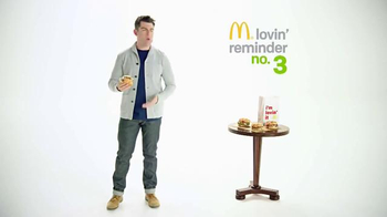McDonald's Sirloin Third Pounder TV Spot, 'Peachy' Featuring Max Greenfield - Thumbnail 6