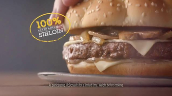 McDonald's Sirloin Third Pounder TV Spot, 'Peachy' Featuring Max Greenfield - Thumbnail 7