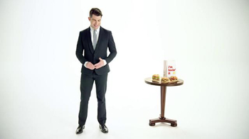 McDonald's Sirloin Third Pounders TV Spot, 'Impression' Ft. Max Greenfield - Thumbnail 1