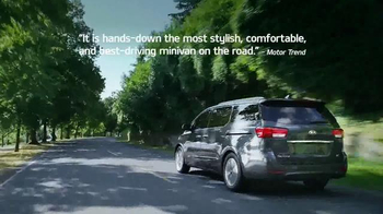 Kia Summer's On Us Sales Event TV Spot, 'Sedona Savings' - Thumbnail 4