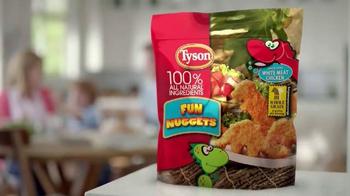 Tyson Fun Nuggets TV Spot, 'Kids at the Dinner Table' - Thumbnail 9
