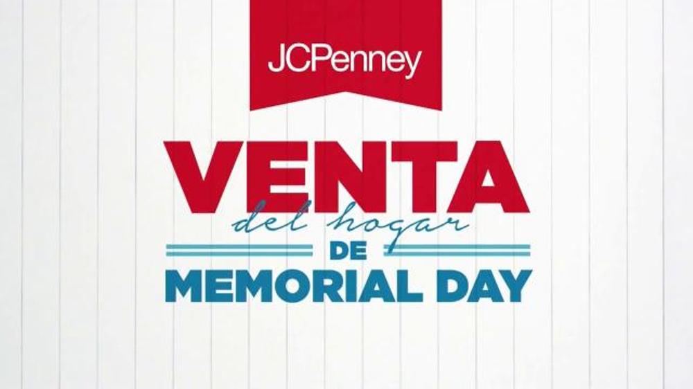 JCPenney Venta del Hogar de Memorial Day TV Commercial, 'Colch??n Nuevo'