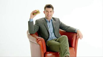 McDonald's Sirloin Third Pound Burger TV Spot, 'Tomato' Ft. Max Greenfield - 43 commercial airings