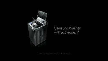 Samsung Washer with Activewash TV Spot, 'Tackles All Your Laundry Needs' - Thumbnail 4