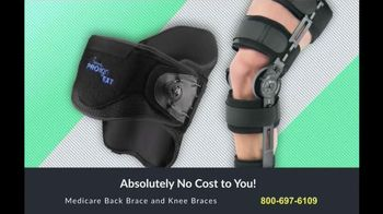 Back and Knee Brace Center TV Spot, 'Suffer No More'