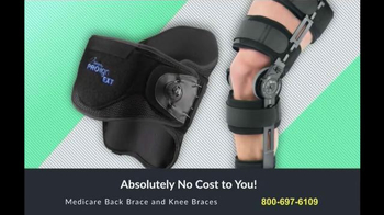 Back and Knee Brace Center TV Spot, 'Suffer No More' - 1159 commercial airings