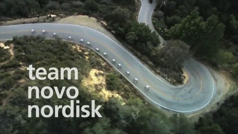 Novo Nordisk TV Commercial, 'Professional Cycling Team'