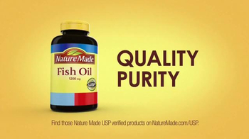 Nature Made TV Spot, 'Number One Recommended Fish Oil Brand' - 3899 commercial airings