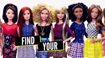 Barbie Fashionistas TV Spot, 'Find Your Style' - 893 commercial airings