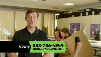 GoDaddy TV Spot, 'Free Human' - Thumbnail 6