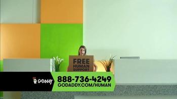 GoDaddy TV Spot, 'Free Human' - Thumbnail 9