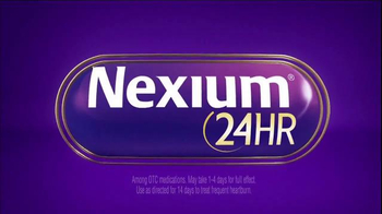 Nexium 24 Hour TV Spot, 'All Day, All Night Protection' - Thumbnail 2