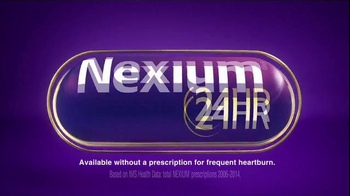 Nexium 24 Hour TV Spot, 'All Day, All Night Protection' - Thumbnail 6