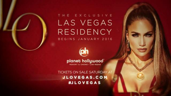 The Exclusive Las Vegas Residency TV Spot, 'Jennifer Lopez' - Thumbnail 10