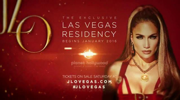 The Exclusive Las Vegas Residency TV Spot, 'Jennifer Lopez' - Thumbnail 9