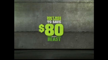 Body Beast TV Spot, 'Get Ripped and Lean' - Thumbnail 1