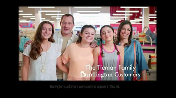 Burlington Coat Factory TV Spot, 'The Tieman Family' - Thumbnail 2
