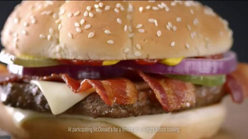 McDonald's Sirloin Third Pounders TV Spot, 'Fanny Pack' Ft. Max Greenfield - Thumbnail 8