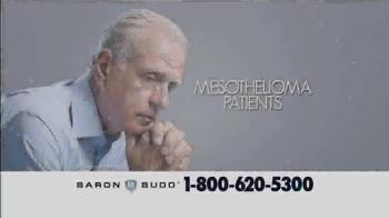 Baron & Budd, P.C. TV Spot, 'Mesothelioma Patients' - Thumbnail 1