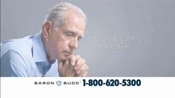 Baron & Budd, P.C. TV Spot, 'Mesothelioma Patients' - Thumbnail 2