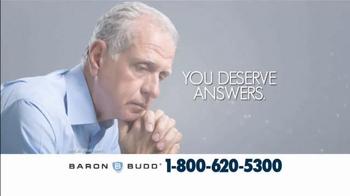 Baron & Budd, P.C. TV Spot, 'Mesothelioma Patients' - Thumbnail 3