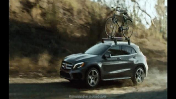 2015 Mercedes-Benz GLA TV Spot, 'Part Adrenaline, Part Adventure' - 1314 commercial airings