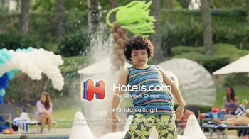 Hotels.com TV Spot, \'The One With the Dancing Kid\'