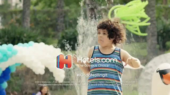 Hotels.com TV Spot, 'The One With the Dancing Kid' - Thumbnail 4