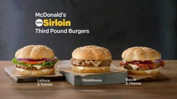 McDonald's Sirloin Third Pound Burgers TV Spot, 'Reason to Hurry' - Thumbnail 1