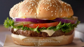 McDonald's Sirloin Third Pound Burgers TV Spot, 'Reason to Hurry' - Thumbnail 3