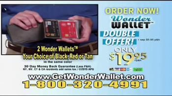 Wonder Wallet TV Spot, 'A Better Wallet' - Thumbnail 10