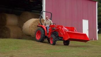 Kubota L2501 Tractors TV Spot, 'Value in Customer Instant Rebates' - Thumbnail 4
