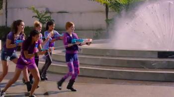 Nerf Rebelle Super Soaker Tri Threat TV Spot, 'Streams of Power' - 496 commercial airings