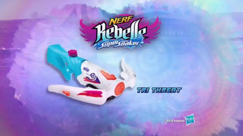 Nerf Rebelle Super Soaker Tri Threat TV Spot, 'Streams of Power' - Thumbnail 4