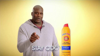Gold Bond Powder Spray TV Spot, 'Hard Working Nation' Ft. Shaquille O'Neal - Thumbnail 10