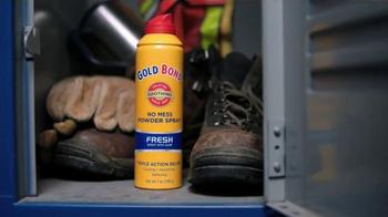 Gold Bond Powder Spray TV Spot, 'Hard Working Nation' Ft. Shaquille O'Neal - Thumbnail 6