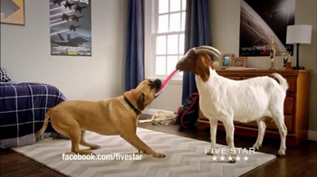 Five Star TV Spot, 'Nothing This Goat Can't Eat' - 252 commercial airings