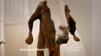 Five Star TV Spot, 'Stand Up to a Goat'
