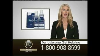 Brown & Crouppen, P.C. TV Spot, 'Testosterone Gel Helpline' - Thumbnail 1