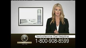 Brown & Crouppen, P.C. TV Spot, 'Testosterone Gel Helpline' - Thumbnail 2