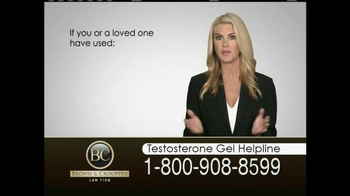 Brown & Crouppen, P.C. TV Spot, 'Testosterone Gel Helpline' - Thumbnail 3
