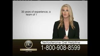 Brown & Crouppen, P.C. TV Spot, 'Testosterone Gel Helpline' - Thumbnail 6