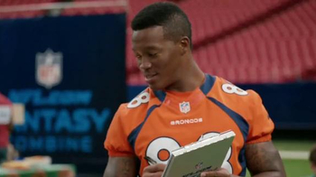 NFL.com Fantasy Football TV Spot, 'Combine' - Thumbnail 8