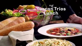 Olive Garden Tuscan Trios Lunch TV Spot, 'Soup, Salad and Breadsticks'