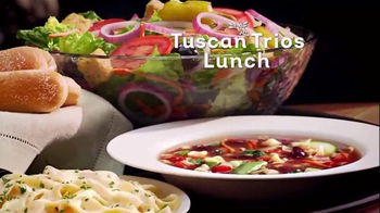 Olive Garden Tuscan Trios Lunch TV Spot, 'Soup, Salad and Breadsticks' - Thumbnail 9